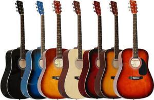 Grande vente Guitare acoustique NEUVE Madera Seulement 99.95$!