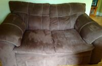 Couch and Love Seat - 2 years old