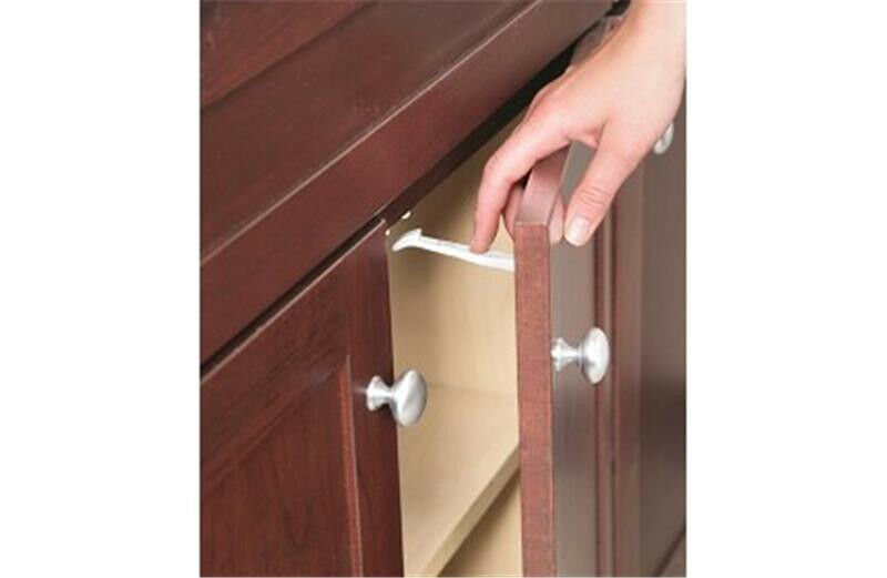 Safety 1st 14 Pack Wide Grip Cabinet Locks & Drawer Latches Child Proof - 72321
