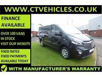 2016 16 Vauxhall Vivaro Van 1.6CDTi 120PS BiTurbo Sportive 2700 ecoFLEX A/C SWB