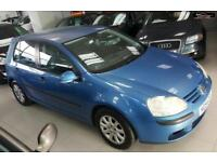 2004 VOLKSWAGEN GOLF SE FSI Blue Manual Petrol