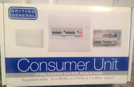 10 Way Consumer Unit