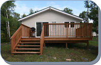 Accepting bookings for cabin rental May 2016, Longbow Lake, Ont