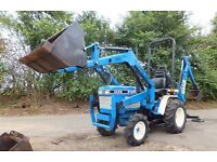 FORD TRACTOR + LOADER + DIGGER BACK HOE. MAY SWAP PART EXCHANGE ALL ITEMS CONSIDERED