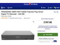 Panasonic 500GB HDD Recorder