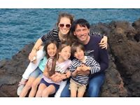 SPANISH speaking AUPAIR preferably VEGETARIAN wanted for family with 3 children