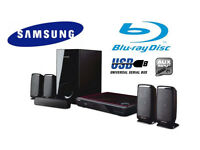 Samsung Blu-ray 5.1 Home Surround Cinema System 1000W. USB, AUX, HDMI. Delivery options available.