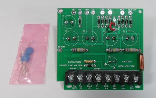 Swan 117XC Power Supply Rebuild Kit with New Capacitors, Resistors & Diodes