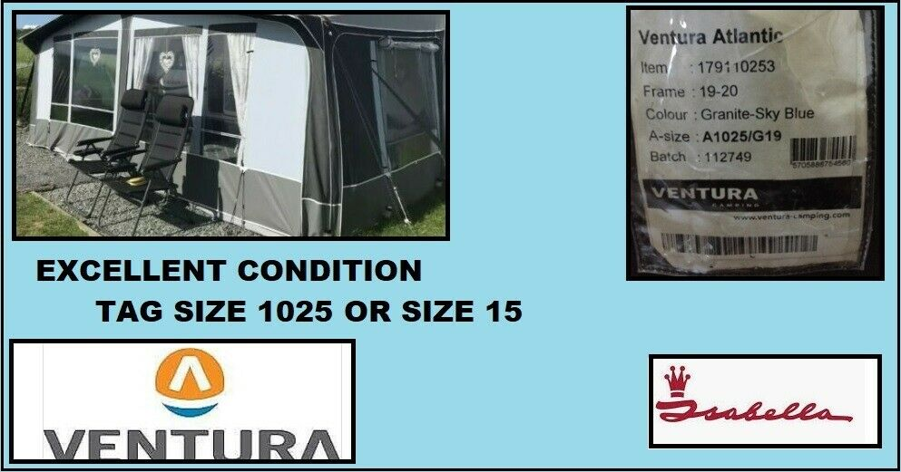 Caravan Awning Ventura Tag Size 1025 cm Size 15 | in ...