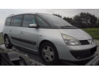 BREAKING 2005 RENAULT ESPACE 2.2 DIESEL -- NO TEXTS PLEASE - NEWRY / ARMAGH