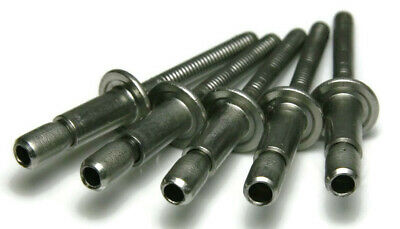 Structural Pop Rivets Interlock Blind Stainless Steel - 8-6 14 X 38 Grip