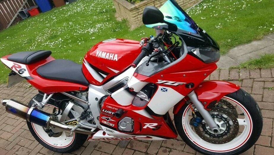 Yamaha R6 2002 5mt
