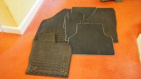AUDI Q3/A3 PREMIUM CARPET & RUBBER MATS (FULL SET)