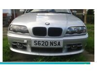 BMW e46 3 series aerodynamics front bumper £175 Ono