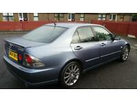 2004 Lexus is200 sport readversed due to time waster