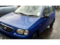 2005 suzuki alto car 1.1 cheap insurance £30 year tex 5 door