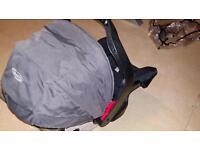 Grace Evo car seat and base