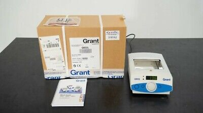 New Grant Instruments Qbd2ldigital Double Block Dry Heater