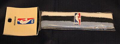 - NBA LOGO MAN NAVY BLUE LIGHT BLUE AND WHITE BARE FEET COLLECTION HEADBAND NIP