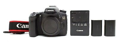 Excellent Canon EOS 70D DSLR Camera Body With Two Batteries #31457