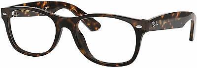 Ray Ban Eyeglasses RX5184 2012 52mm New Wayfarer Dark Havana / Demo (Ray Ban Rx5184 Eyeglasses)