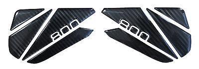 Kniepad 3D 800162 Carbon Tank Schutz kompatibel Kawasaki Z800 Tank (Bike Knie Pads)