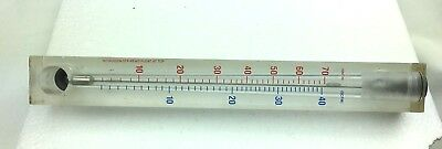 Nitrogen Flow Meter Lucite Stp King Instrument Company Read Float At Top
