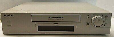Samsung Ssc 1280h Time Lapse Surveillance System Video Cassette Recorder