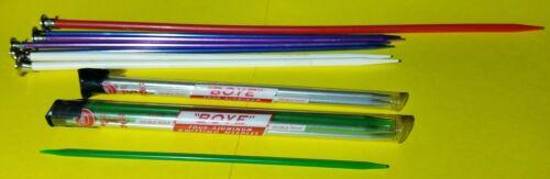 Knitting Needles-lot Of 24, Used. Sears, Boye, Susan Bates, Various Styles-sizes - $5.00