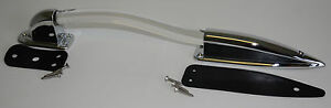 WHITE LED 12 volt Lighted RV Entry Grab Handle Chrome  assist  8121254-CH-WH