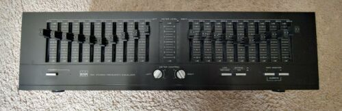 BSR EQ-110X STEREO EQUALIZER- Excellent Condition