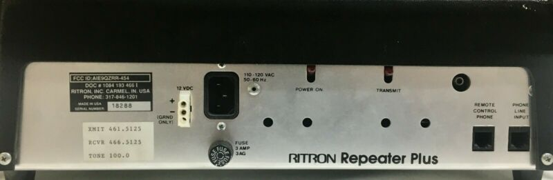 Ritron RR-454 UHF Repeater Plus with Phone/autopatch RP-200 (440 HAM/Amateur)3