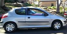 2004 Peugeot 206 Hatchback Greenwich Lane Cove Area Preview