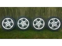 "17"" HYUNDAI COUPE ALLOY WHEELS"