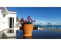Beachfront Bungalows Costa del Sol: close to town center and just steps from the beach