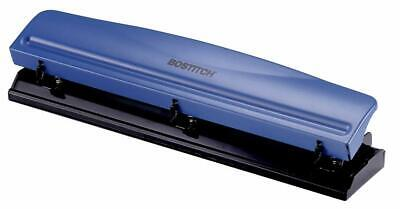Bostitch 3 Hole Punch 12 Sheets Navy Blue Kt-hp12-blue