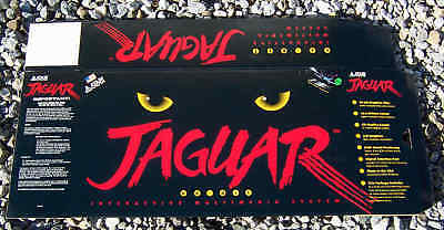 Atari Jaguar Console Box! Brand New But with Scuffs and Dings. Empty Global Ship