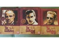 The Godfather part 1 - 3 dvd's