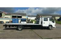 Isuzu nqr70 tilt and slide recovery truck