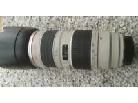 Canon lens 70-200mm ultrasonic 1:2.8L