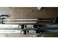 Volkl platinum p40 ski's with solomon bindings
