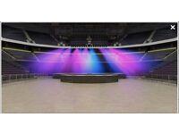 Justin Bieber Ticket tickets concert manchester 23rd Oct