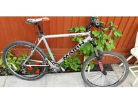 Marin rocky ridge mountain bike fully polished alloy frame in nice condition ready to ride