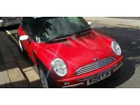 Red Mini Cooper Hatchback 2004 1.6 77k lady driver Good Condition South Norwood Croydon