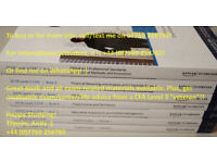 NEW 2018 CFA Level 2 Schweser Notes HARD COPY BOOKS - PHYSICAL PAPERBACK PRINT EDITION Full Set II
