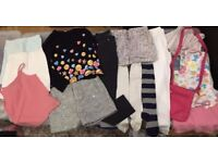 Girls Bundle Of Clothes 10-11 Years (new Bag And Shorts Included
