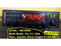 10. 11. 12m Radio Ham CB HR5500 Multi Mode
