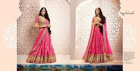 NAKKASHI 5074 SERIES HEAVY DESIGNER LEHENGA COLLECTION