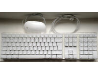 Apple Wired Keyboard and Mouse