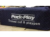 Mother Care Pack n Play Travel Cot & Playpen - £15